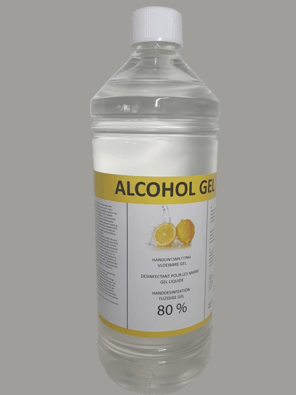 Handgel 80% met citroen geur